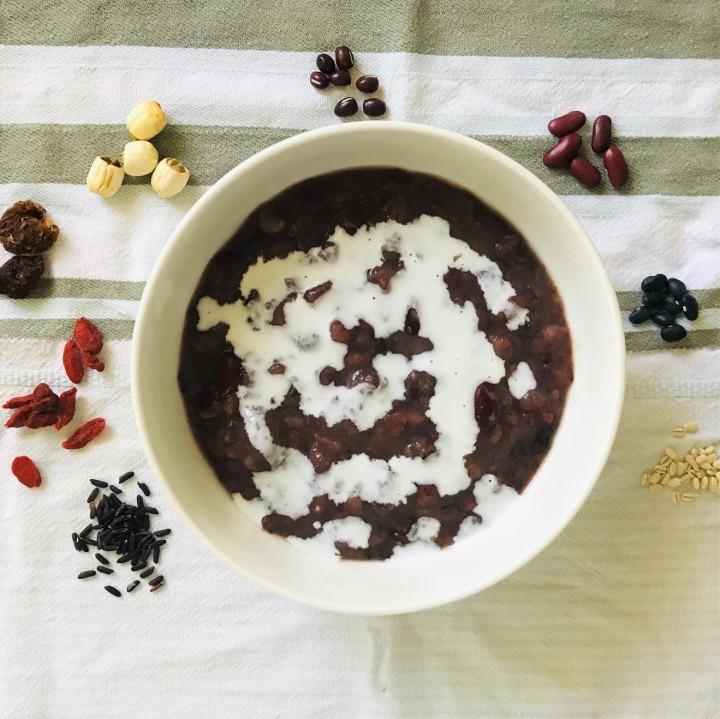 Coconut Milk Black RicePorridge