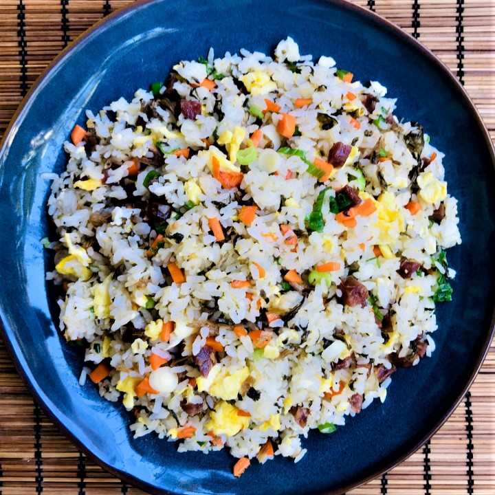 Chinese Preserved Mustard Fried Rice