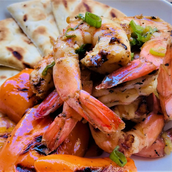 Smoked Paprika Grilled Shrimp