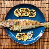 Mediterranean Grilled Whole Fish